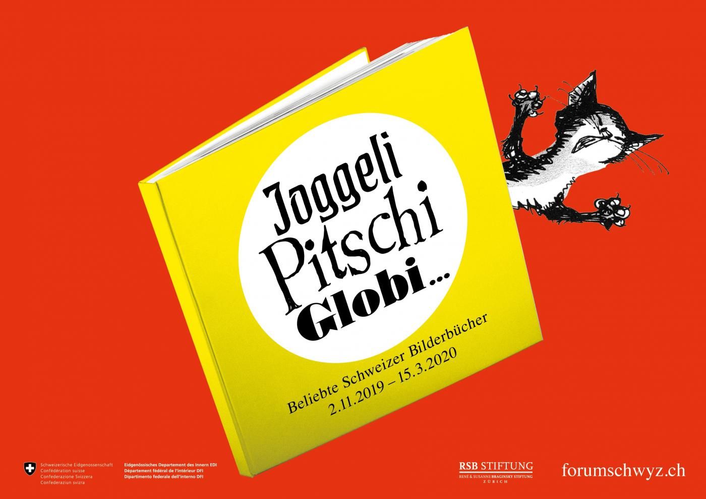 Joggeli, Pitschi, Globi... Popular Swiss Picture Books